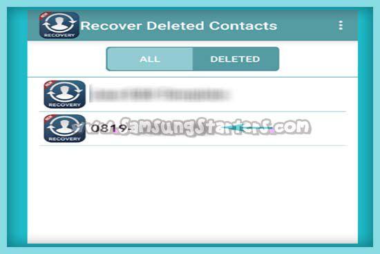 Kontak HP Samsung Hilang