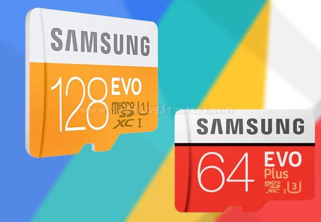 MicroSD Samsung Evo
