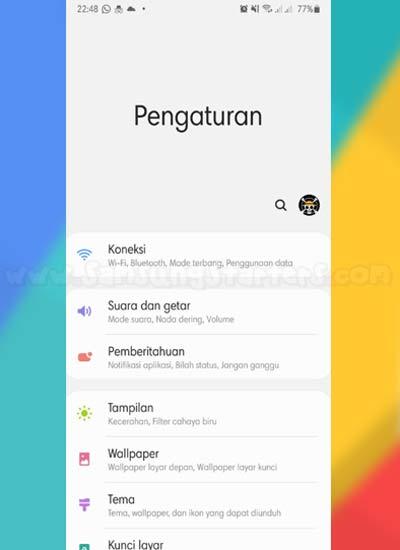 Pengaturan Hp Android