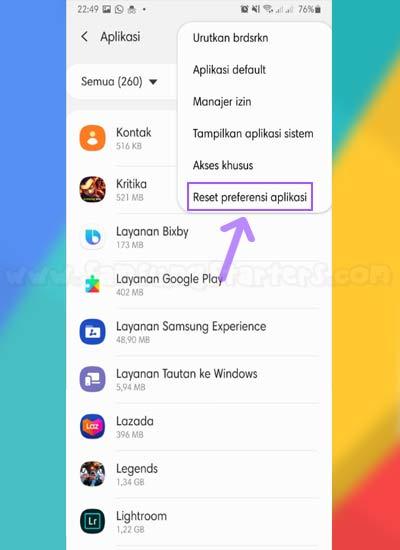 Cara Mengatasi Layanan Google Play Terhenti di Samsung di Hp Samsung