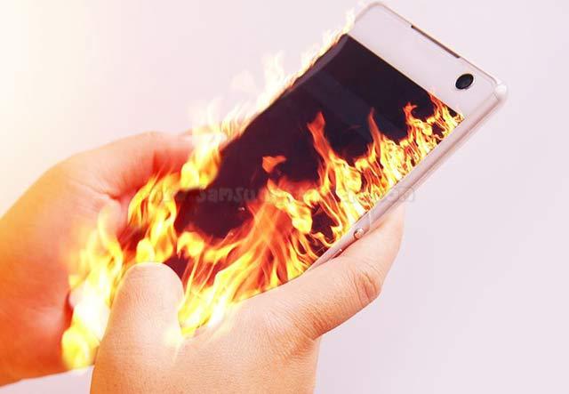 Smartphone Panas