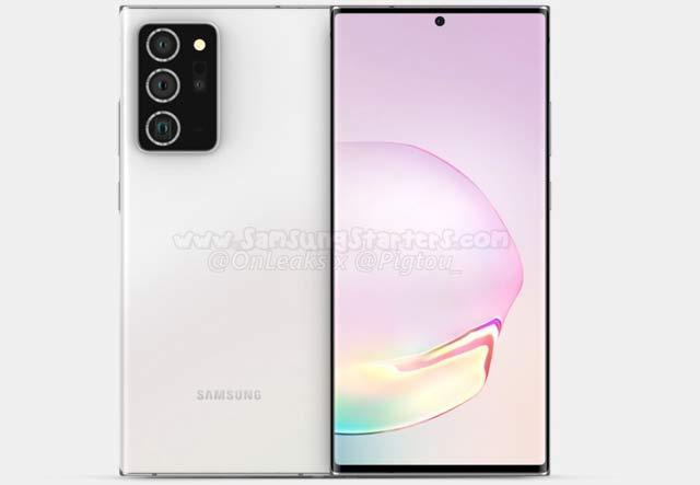 Spesifikasi dan Harga Samsung Galaxy Note 20 Plus