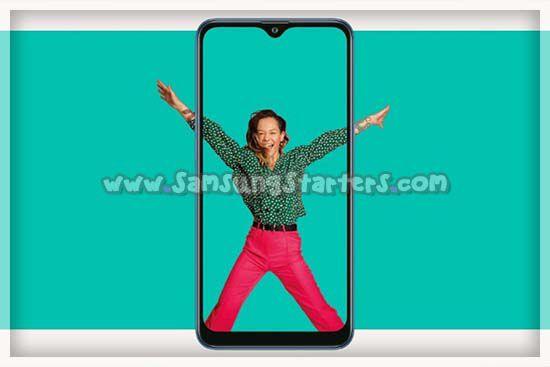 Desain Samsung Galaxy M01s