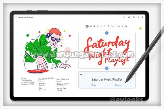 Fitur Samsung Tab 7