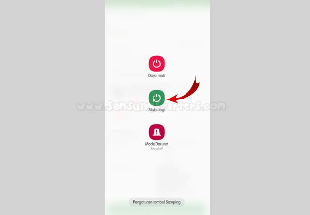 Restart Hp Samsung