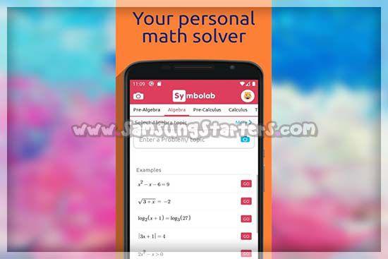 Symbolab-Math Solver