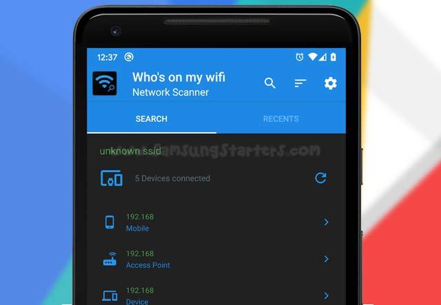 Aplikasi Cek Pengguna WiFi Android