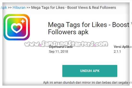 Mega Tag For Like
