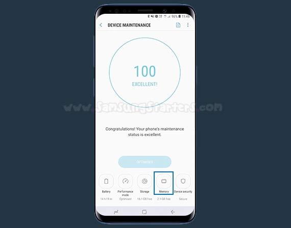 Cara Mengecek Ram Samsung
