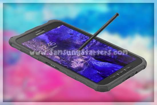 Desain Samsung galaxy tab active 3