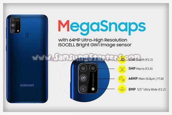 Kamera Samsung M31 Prime