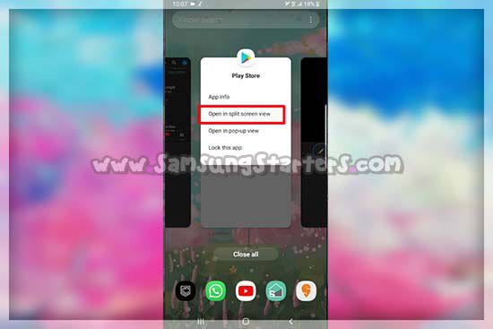 Split Screen Samsung Terbaru