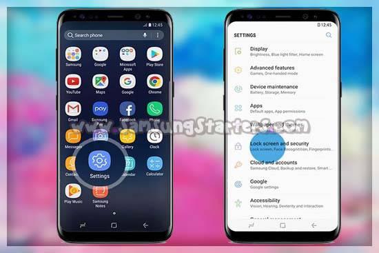 Cara mengaktifkan Fitur Find My Mobile Di HP Samsung