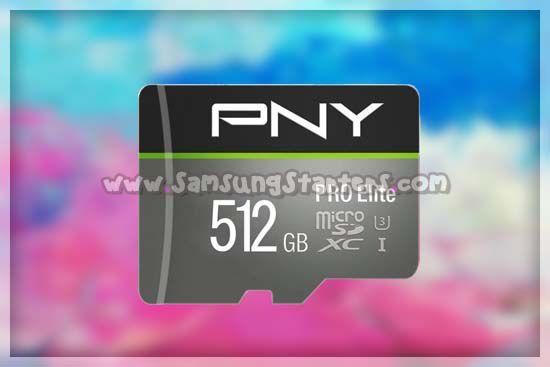 PNY U3 Pro Elite MicroSD Card