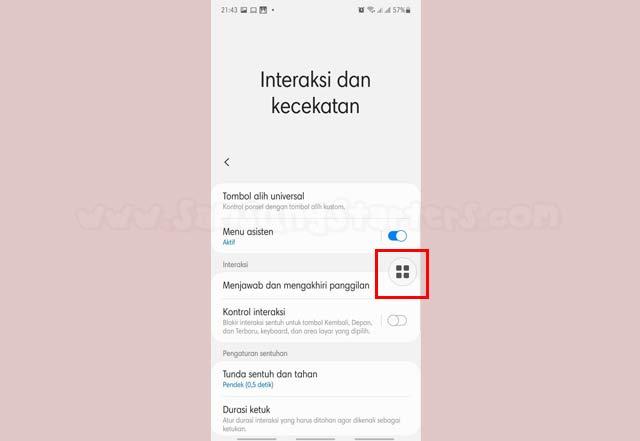 Screenshot Hp Samsung A11