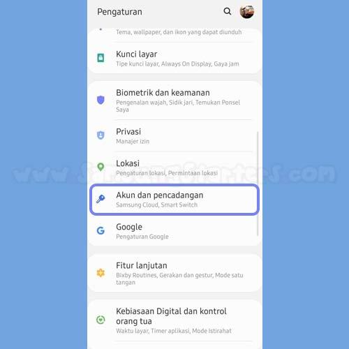 Cara Bikin Email Baru di Samsung