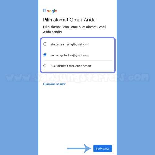 Cara Bikin Email Samsung