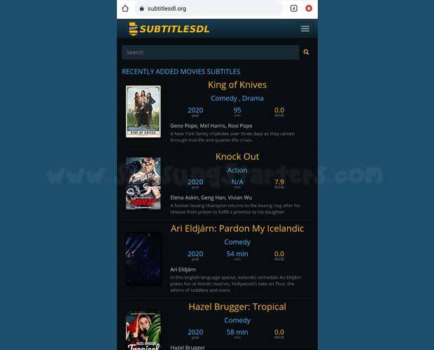 Cara Download Subtitle Film Bahasa Indonesia