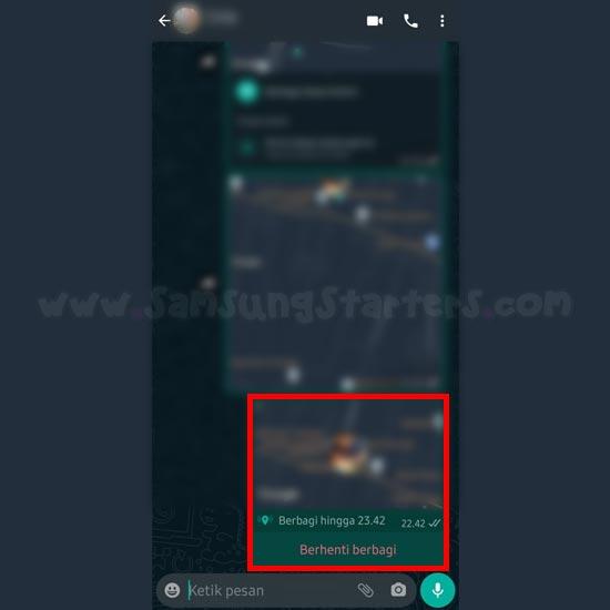 Cara Melacak Lokasi Lewat WhatsApp