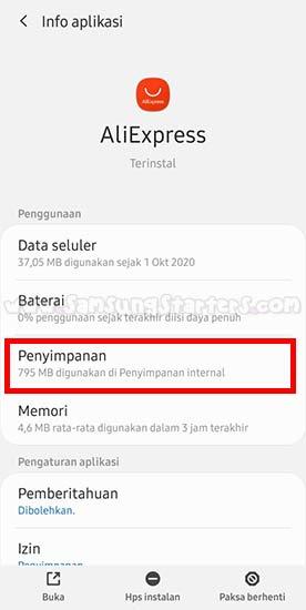 Cara Hapus Cache Samsung