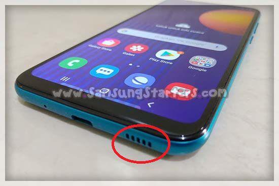 Cara Membersihkan Speaker HP Samsung Yang Kotor