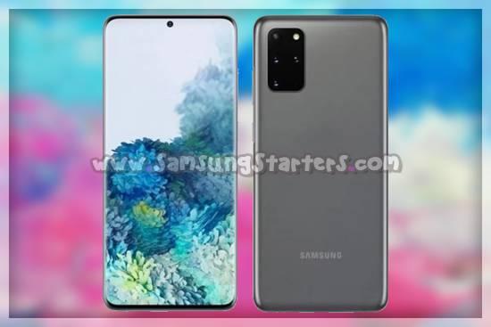 cara screenshot Samsung S20 Plus