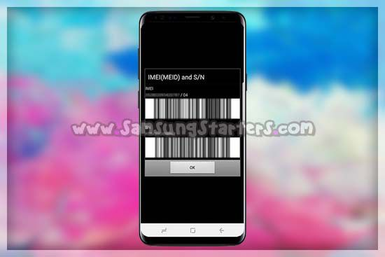 Cara Mengembalikan IMEI Samsung