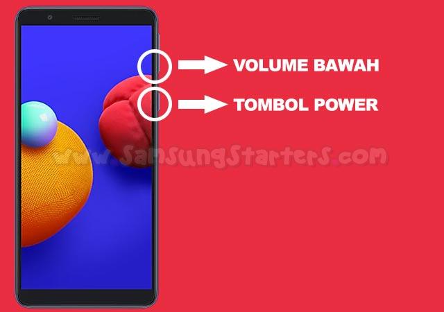 Cara Screenshot Samsung A01 Core