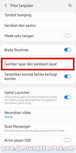 Cara SS Panjang Samsung A72