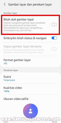 Cara Screenshot Panjang Hp Samsung