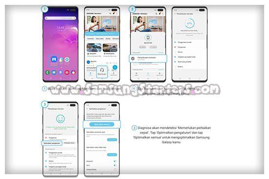 Cara Mengecek Baterai hp Samsung