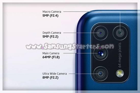 Kamera Samsung M32