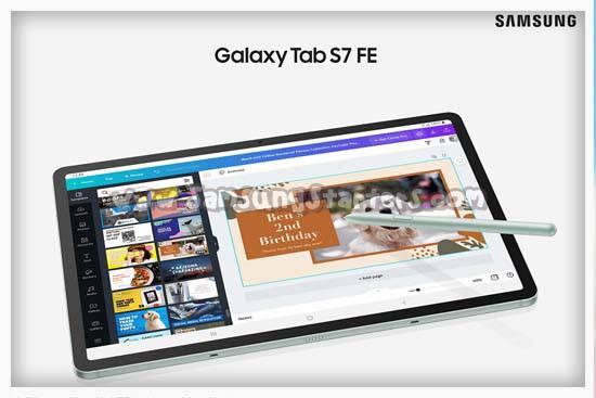 Harga Samsung Galaxy Tab S7 FE