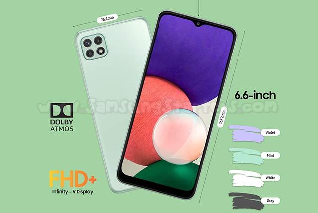 Spesifikasi dan Harga Samsung A22 5G