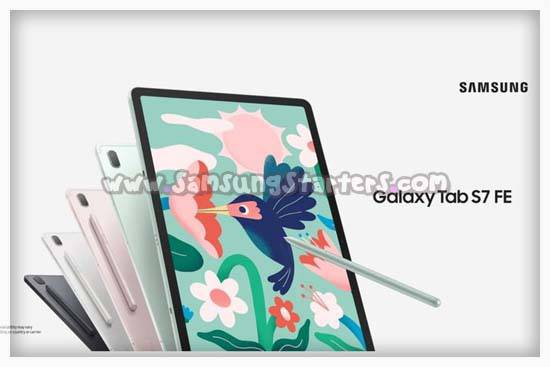 Spesifikasi dan Harga Samsung Galaxy Tab S7 FE