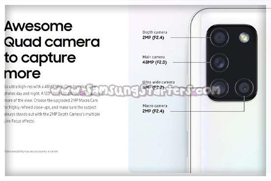 Cara Menggunakan Kamera Samsung A21s