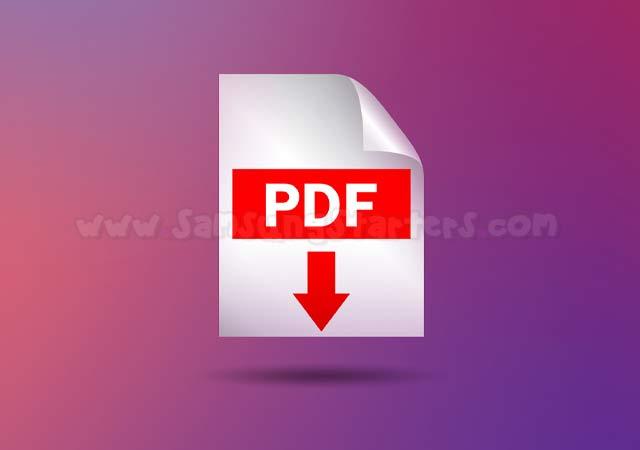 Cara Merubah File JPG Ke PDF di Android Samsung