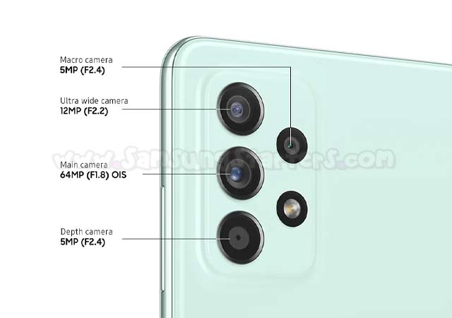 Kamera Samsung Galaxy A52s 5G