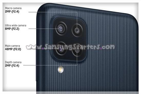 Kamera Samsung M22